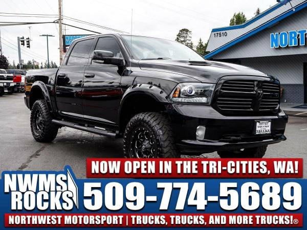 Lifted 2013 *Dodge Ram* 1500 Sport 4x4 -