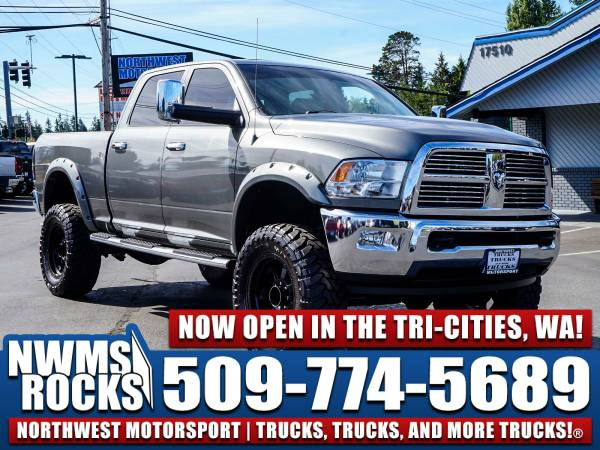 Lifted 2012 *Dodge Ram* 3500 Laramie 4x4 -