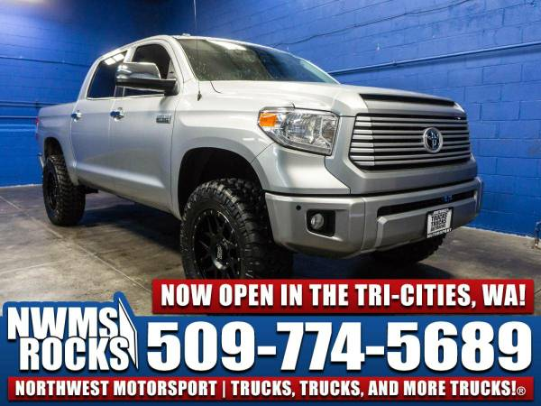 Lifted 2014 *Toyota Tundra* Platinum 4x4 -