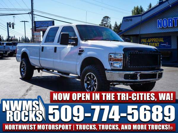 2008 *Ford F350* XLT 4x4 - Off Road Tires! 2008 Ford F-350 XLT 4x4 Die