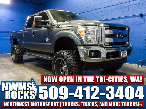 Lifted 2016 *Ford F350* Lariat 4x4 -