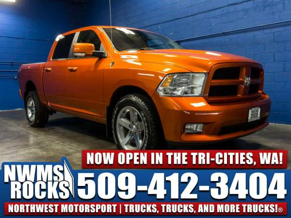 2010 *Dodge Ram* 1500 4x4 - 2010 Dodge Ram 1500 4x4 Truck w/ Alpine So