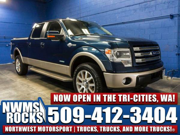 2014 *Ford F150* King Ranch 4x4 - 2014 Ford F-150 King Ranch 4x4 Truck