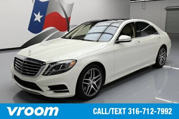 2015 Mercedes-Benz S-Class S550 7 DAY RETURN / 3000 CARS IN STOCK