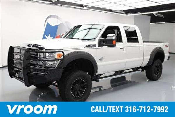 2014 Ford F-250 Lariat 4dr Crew Cab 4WD 6.8 ft. SWB (6.7L 8cyl ) 7 DAY