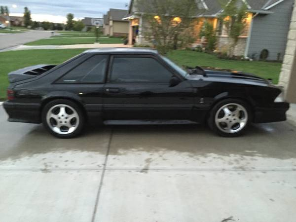1987 mustang with 411w