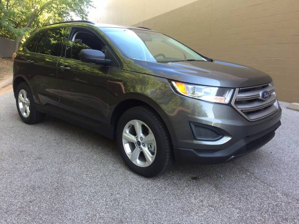 PRICE DROP! 2015 FORD EDGE SE! 5,000 MILES!!! CALL JESS