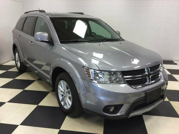 2016 DODGE JOURNEY SXT 3RD ROW ONLY 18K MILES FACTORY WARRANTY