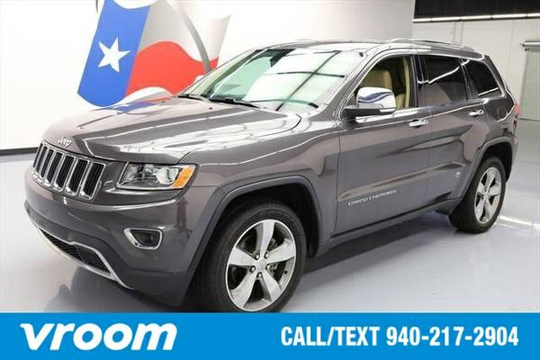 2014 Jeep Grand Cherokee Limited 4dr SUV SUV 7 DAY RETURN / 3000 CARS