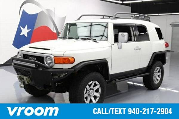 2014 Toyota FJ Cruiser 4x4 4dr SUV 5A SUV 7 DAY RETURN / 3000 CARS IN