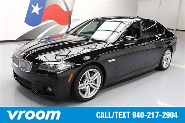 2015 BMW 550 i 7 DAY RETURN / 3000 CARS IN STOCK