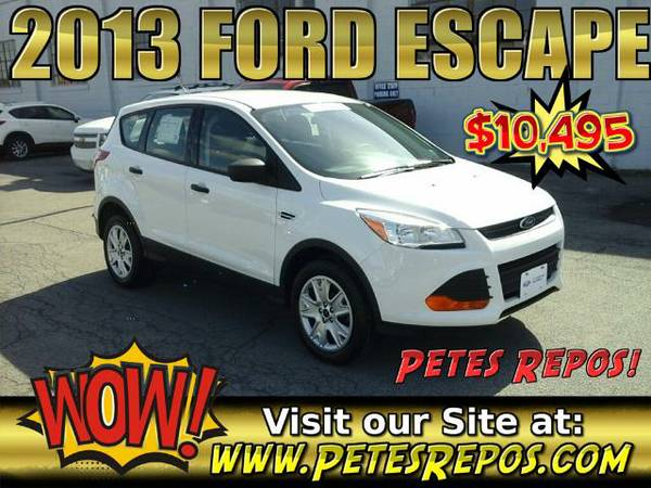 2013 Ford Escape SUV __ One Owner Ford