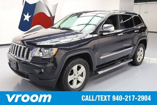 2013 Jeep Grand Cherokee Limited 7 DAY RETURN / 3000 CARS IN STOCK