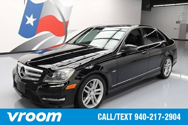2012 Mercedes-Benz C-Class 7 DAY RETURN / 3000 CARS IN STOCK