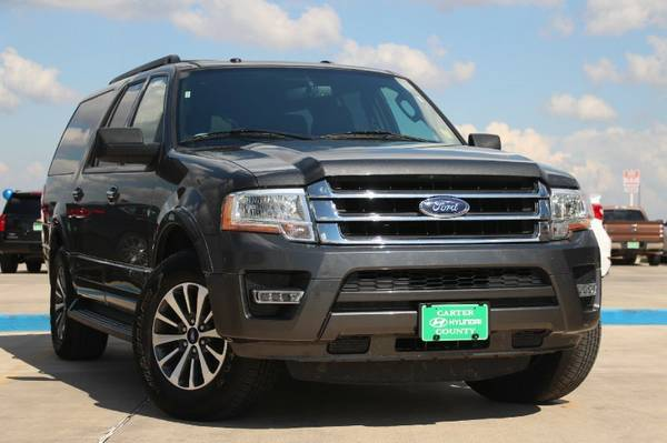 2015 FORD EXPEDITION EL XLT ECO BOOST!! ONLY $433 A MONTH!