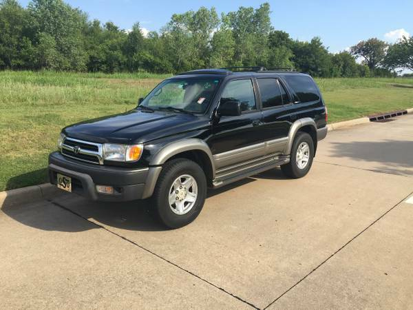 2000 TOYOTA 4RUNNER LIMITED! 4X4! NO ACCIDENTS! CALL JESS