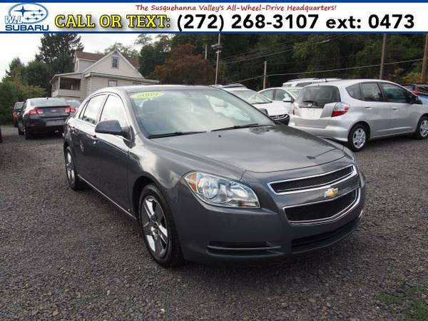 2009 *Chevrolet Malibu* SEDAN (Gray) BAD CREDIT OK!