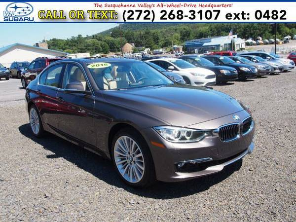 2015 *BMW 3 Series* 328I X DRIVE LUXURY (Beige) BAD CREDIT OK!