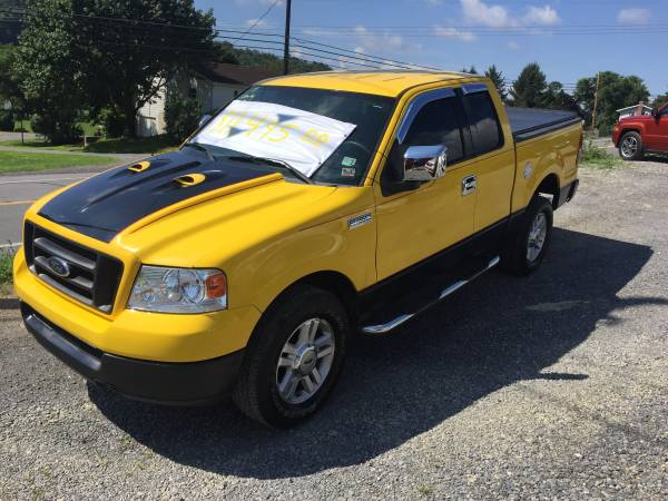 JUST TRADED 2004 FORD F150 STX EXT CAB 4X4 ONLY 99,000 MILES TRADES