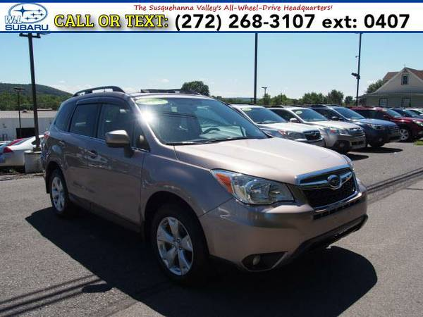 2015 *Subaru Forester* 2.5i Limited () BAD CREDIT OK!