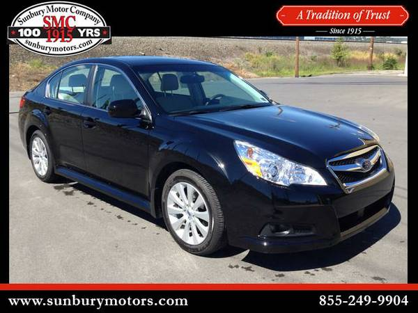 2012 Subaru Legacy - *GET TOP $$$ FOR YOUR TRADE*