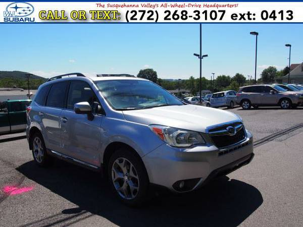 2015 *Subaru Forester* 2.5i Touring () BAD CREDIT OK!
