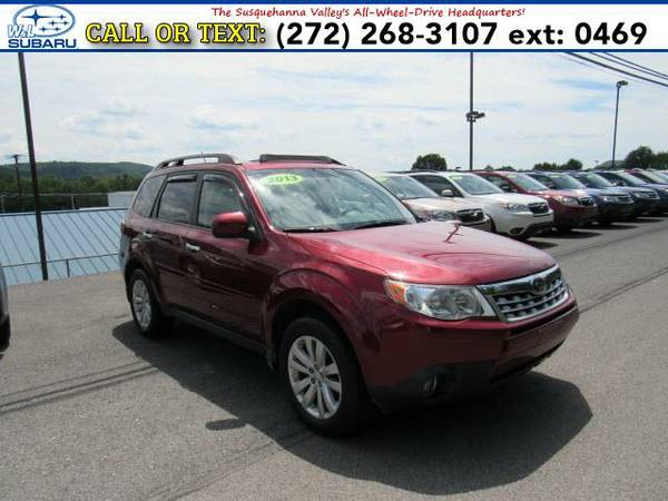 2013 *Subaru Forester* 2.5X Limited (Red) BAD CREDIT OK!
