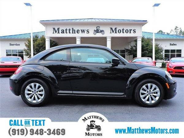 2015 Volkswagen Beetle Coupe 1.8T Classic Coupe Beetle Coupe...