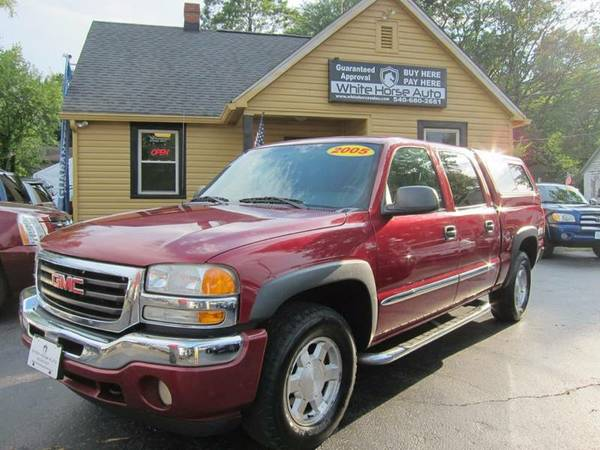 2005 GMC SIERRA 1500 SLE ~ $0 DOWN ON ANY PAID TRADE IN!!