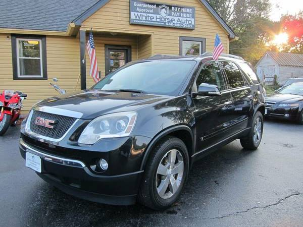 2010 GMC ACADIA ~ $0 DOWN ON ANY PAID TRADE IN!!