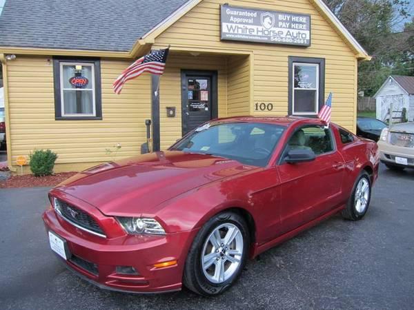 2014 FORD MUSTANG ~ $0 DOWN ON ANY PAID TRADE IN!!