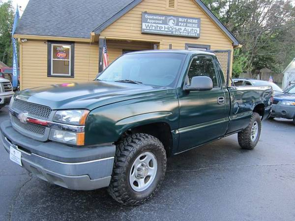 2003 CHEVROLET SILVERADO $0 DOWN ON ANY PAID TRADE IN!!