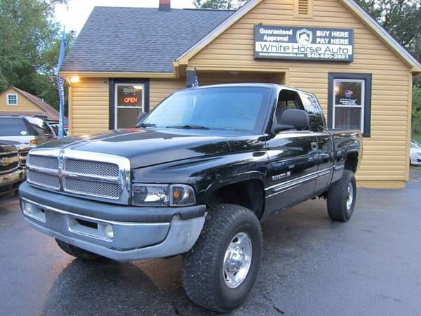 2001 DODGE RAM PU 2500 ~ $0 DOWN ON ANY PAID TRADE IN!!