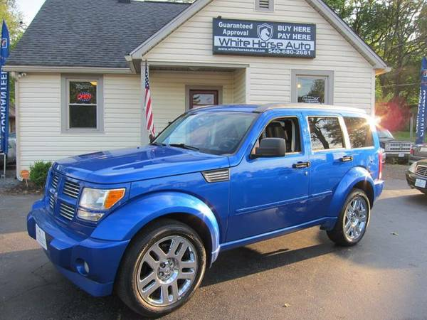 2007 DODGE NITRO ~ $0 DOWN ON ANY PAID TRADE IN!
