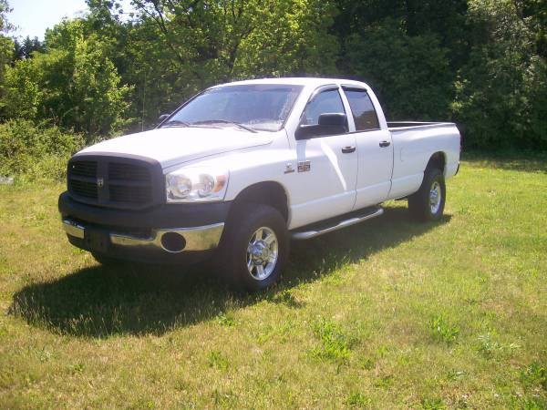 2007 DODGE 2500 5.9 CUMMINS 4X4 CLUB CAB