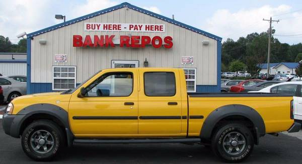 2002 Nissan Frontier XE-V6 Crew Cab **Only 131k Mi**Buy Here Pay Here*