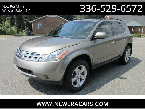 2004 NISSAN MURANO SL Nice!! Clean!!, Gold
