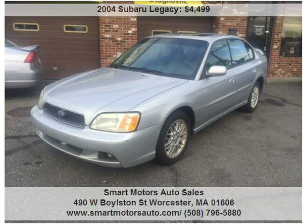 2004 SUBARU LEGACY ALL WHEEL DRIVE SEDAN -- FRESH TRADE IN RUNS GREAT