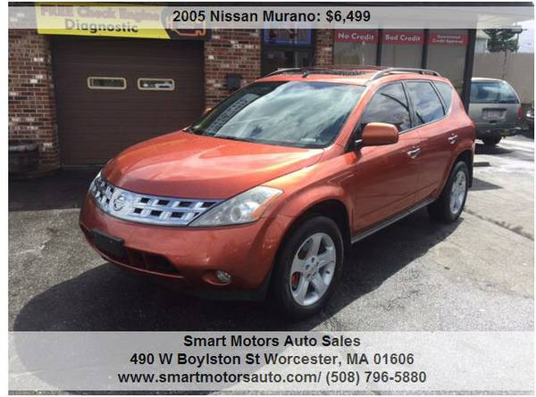 ## 2005 Nissan Murano AWD ORANGE BLACK INTERIOR SO CLEAN LIKE NEW