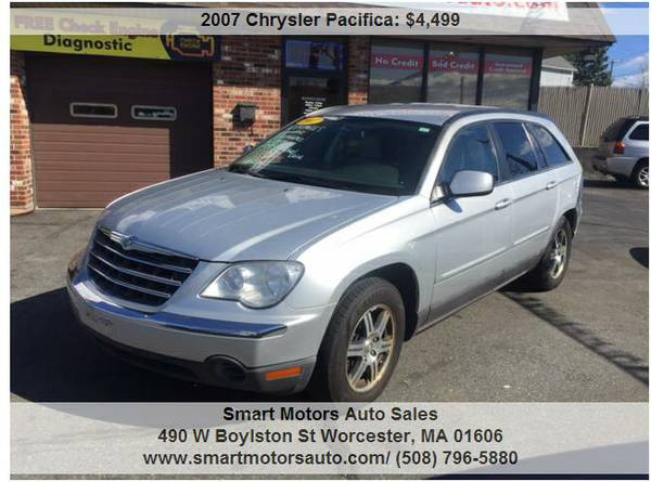 2007 Chrysler Pacifica Touring AWD 6 PASSENGERS WOW SO NICE