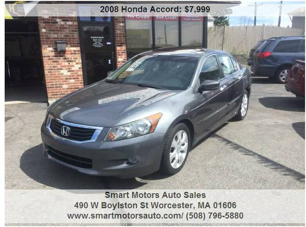 #2008 Honda Accord EX-L LOADED Leather-- Moonroof NEW LOW PRICE-- WOW
