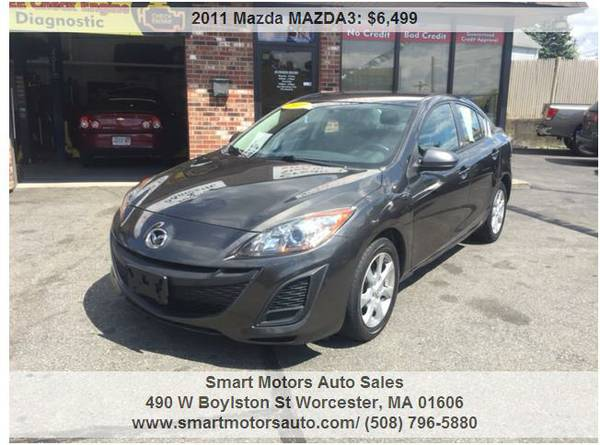 ☛BUY NOW► 2011 MAZDA MAZDA3 ★CREDIT APPROVAL★