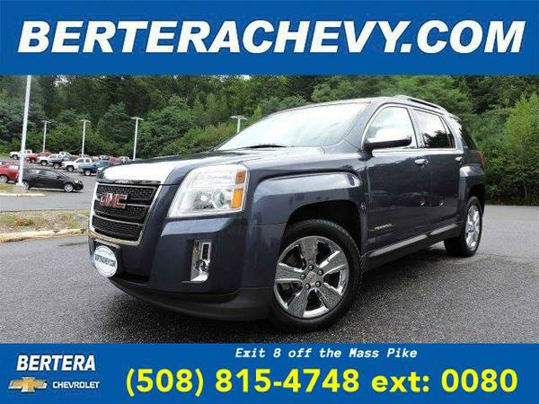 2014 *GMC Terrain* SLE (Atlantis Blue Metallic)