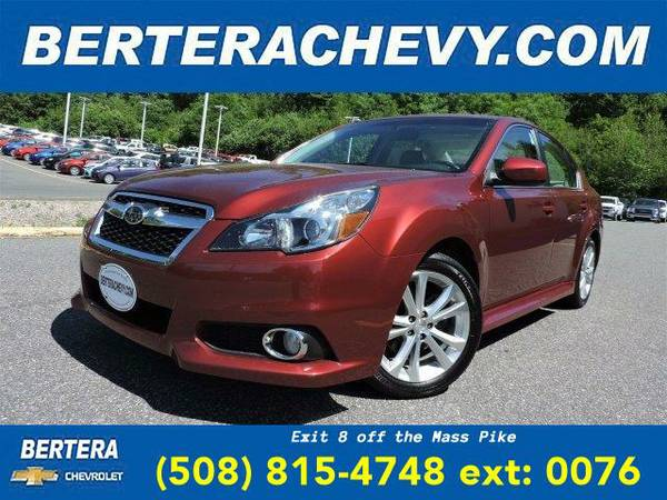 2014 *Subaru Legacy* 2.5i Limited (Venetian Red Pearl)