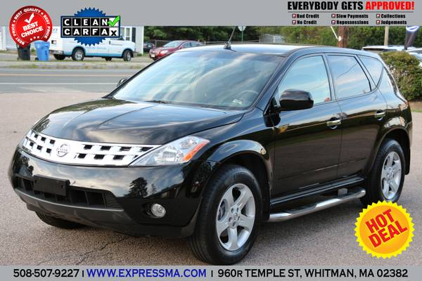 2004 **NISSAN MURANO**SL**BLACK ON BLACK-AWD-LOW MILES-1OWNER-MINT**