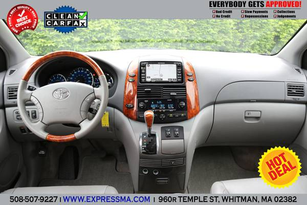 2008 **TOYOTA SIENNA** LIMITED** NAVIGATION-DVD-AWD(ALL WHEEL DRIVE)**