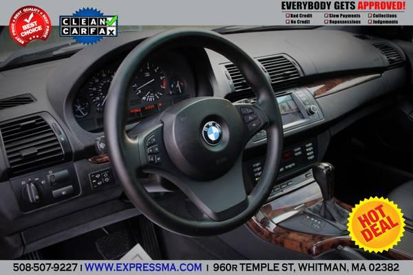 2004**BMW X5 4.4i**SPORT PKG@NAVIGATION@DVD@R19**