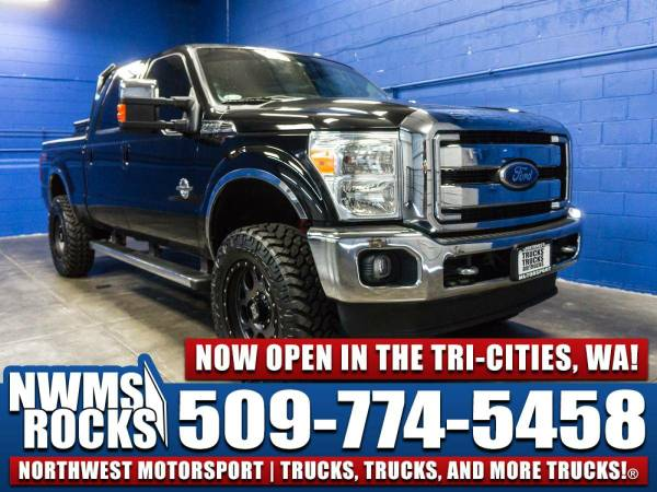 Lifted 2012 *Ford F350* Lariat 4x4 -