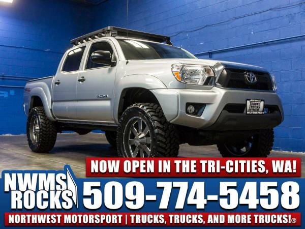 Lifted 2015 *Toyota Tacoma* TRD 4x4 -