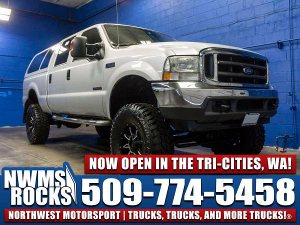 Lifted 2004 *Ford F250* XLT 4x4 -